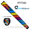 TourMARK Loudmouth Captain Thunderbolt Jumbo Pistol Putter Grip - Blue / Red / Yellow / Purple