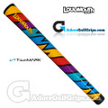 TourMARK Loudmouth Captain Thunderbolt Grips - Blue / Red / Yellow / Purple