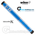 "Winn Pro X 1.18"" Midsize Paddle Lite Putter Grip - Blue / Orange / White"