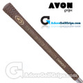 Avon Chamois Grips - Brown / Gold