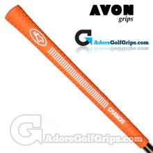 Avon Chamois Grips - Orange / White