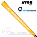 Avon Chamois Grips - Yellow / White