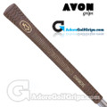 Avon Chamois Jumbo Grips - Brown / Gold