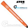 Avon Chamois Jumbo Grips - Orange / White