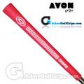 Avon Chamois Jumbo Grips - Red / White