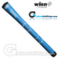 Winn Dri-Tac Junior Soft Feel Grips - Blue