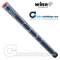 Winn Dri-Tac Soft Feel Grips - Navy Blue / Red