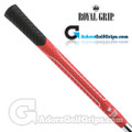 Royal Grip Multi Compound Technology MCT Bi-Colour Grips - Red / Black