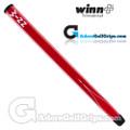 Winn 15 Inch Long Pistol Counterbalance Putter Grip - Red / White
