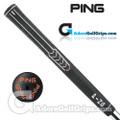 "Ping ID8 Jumbo (Orange Code +1/16"") Grips - Black / Orange"