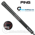 "Ping ID8 Undersize / Ladies (Red Code -1/32"") Grips - Black / Red"