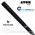 Avon Tacki-Mac Itomic Wrap Jumbo Grips - Black / White