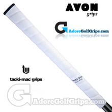 Avon Tacki-Mac Itomic Wrap Midsize Grips - White / Black