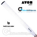 Avon Tacki-Mac Itomic Midsize Grips - White / Black