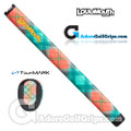 TourMARK Loudmouth Just Peachy Midsize Pistol Putter Grip - Peach / Green