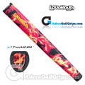 TourMARK Loudmouth Liar Liar Jumbo Pistol Putter Grip - Red / Yellow / Black