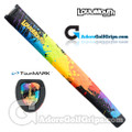 TourMARK Loudmouth Paintballz Jumbo Pistol Putter Grip - Blue / Green / Yellow / Orange