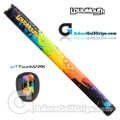 TourMARK Loudmouth Paintballz Midsize Pistol Putter Grip - Blue / Green / Yellow / Orange