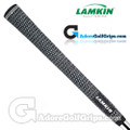 Lamkin Crossline Jumbo Full Cord Grips - Black / White