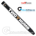 2 Thumb Snug Daddy 30 Midsize Putter Grip - Black / White / Gold