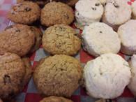 Cookies - Oatmeal Scones (1/2 lb)