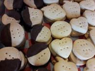 Cookies - Chocolate Shortbread (1/2 lb)