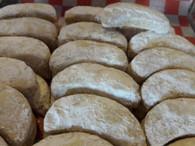 Cookies - Almond Crescents (1/2 lb)