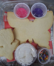 Cookie Decorating Kit - homemade