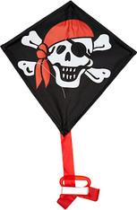 """Kite - 12"""" Single Line Jolly Roger"""