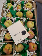 Terhune Orchards Peach Box