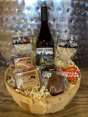 Valentine's Wine Basket