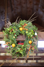 Holiday Wreath Workshop with Pam Mount