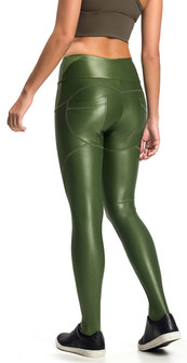 Vestem Glossy Green Active Butt Shaper Legging