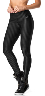 Vestem Winter Striped Black Legging