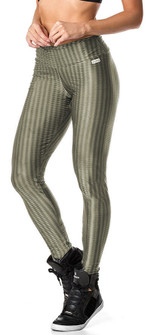 Vestem Verticle Striped Silver Legging