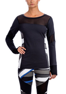 Brazil Wear Black Catarina L/S Top