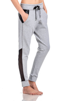 Brazil Wear Grey Melange Camila All Day Active Pants