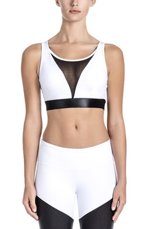 Brazil Wear White Paola Bralette Top