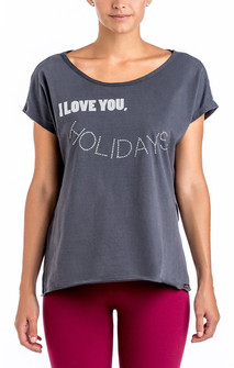 CajuBrasil I Love You Holidays T- Shirt