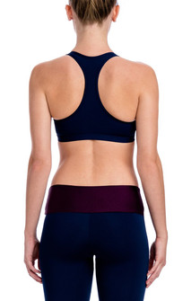 CajuBrasil Navy Blue New Rock Basic Bra Top