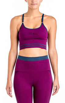 Vestem Seamless Cross Fashion Crop