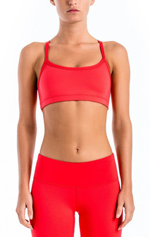 Brazil Wear Solar Red Yasmin Adjustable Strap Bra