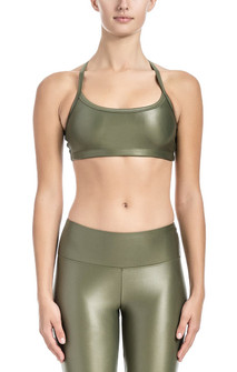 Brazil Wear Army Force Luminous Yasmin Adjustable Strap Bra