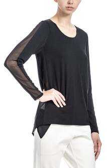 Brazil Wear Mariane Relaxed L/S Top