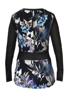Brazil Wear Juliana Hong Kong Garden L/S Top