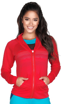 Protokolo Red Candy Crush Mesh Jacket