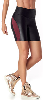Vestem Black Burgundy Lightning  Short