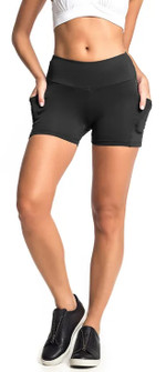 Vestem Black Pocket Short
