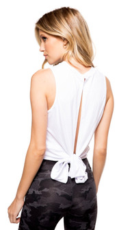 Strut-This White Fitz Top