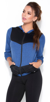 Protokolo Blue Hot Shot Sports Jacket